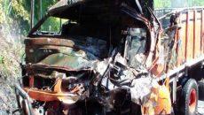 واژگونی کامیون حامل کارگران در کامبوج