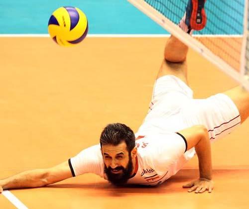 حضور رییس فدراسیون جهانی والیبال در بازی ایران و استرالیا