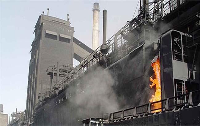 انفجار در کنورتور شماره دو ذوب آهن اصفهان