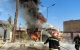 جزییات حریق تانکر در جایگاه سوخت خمینی شهر