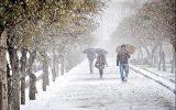 تهران دوشنبه برفی می شود