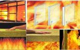 ارزیابی و تحلیل اثر بخشی مواد آتش بند درمؤلفه زمان