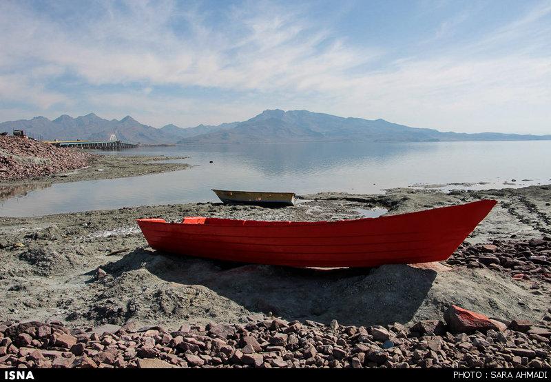 حال و هوای این روزهای دریاچه ارومیه