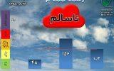 آلودگی ادامه دار هوای تهران تا روز سه شنبه