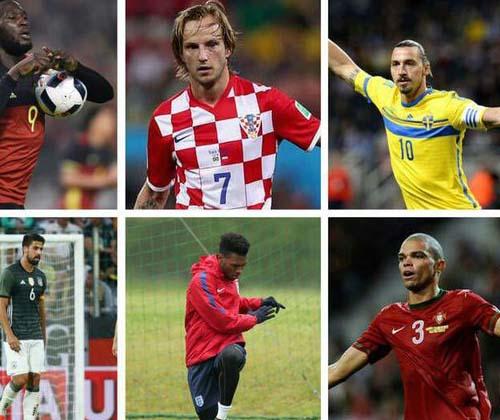 تمام بازیکنان دو ملیتی در یورو ۲۰۱۶