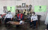 وزیر ارشاد در ایستگاه ۲ آتش نشانی تهران حضور یافت