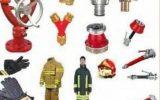 لیست تجهیزات خودروی اطفاء و نجات