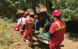 ۷مصدوم در حادثه جاده ای در ارتفاعات وردیج