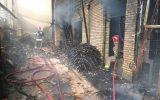 جزئیات آتشسوزی در شهرک صنعتی چهاردانگه