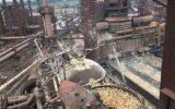 زبانههای آتش در بزرگترین کارخانه فولاد سازی دنیا