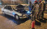 دو مصدوم در حادثه تصادف در بزرگراه شهید آبشناسان