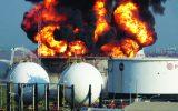 اطفاء حریق مخازن مواد و مشتقات نفتی