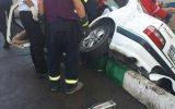 دو فوتی و پنج مصدوم در حادثه تصادف جاده خاوران