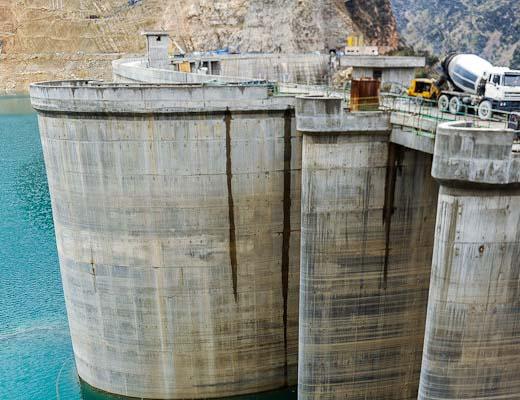 کاهش آورد آب رودخانههای کرخه، کارون و مارون