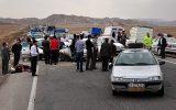 لغزندگی جاده قزوین – تهران ۸ مصدوم بر جای گذاشت