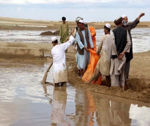 سیل در افغانستان قربانی گرفت