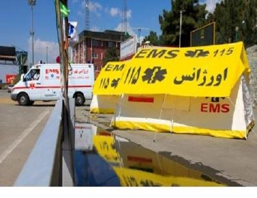 آمادگی کامل اورژانس برای ارائه خدمات در تاسوعاو عاشورای حسینی