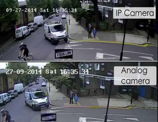 چرا باید دوربینهای NVR IP را جایگزین دوربین های DVR ANALOG کرد