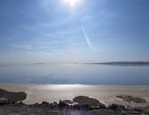 دریاچه حوض سلطان پس از هشت سال خشکسالی آبگیری شد