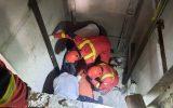 مرگ دو کارگر در سقوط چاهک آسانسور
