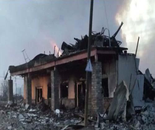 """۲۰ درصد خانههای """"فورت مکموری"""" در آتش سوخت"""