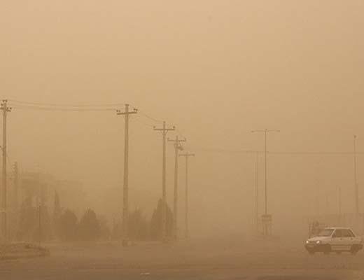 تداوم گرد و خاک شدید در سیستان و بلوچستان