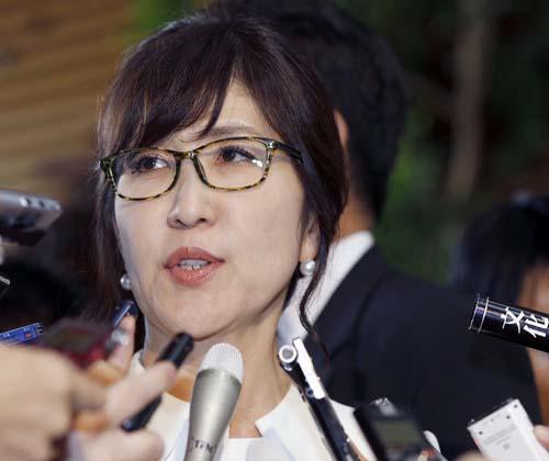 یک زن، وزیر دفاع ژاپن شد!