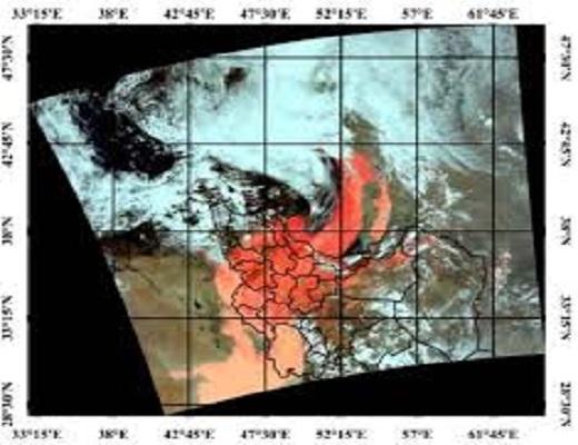 ارزیابی و پایش توفان گرد و غبار با استفاده از روشهای سنجش از دور