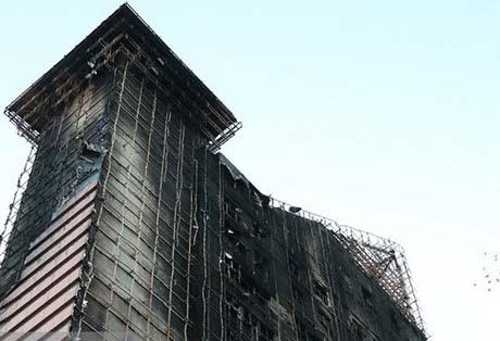 ۴۰ برج مشهد در معرض خطر آتش سوزی هستند