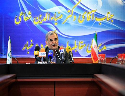 کانونهای ریزگرد خوزستان ۶۰۰ هزار هکتار است