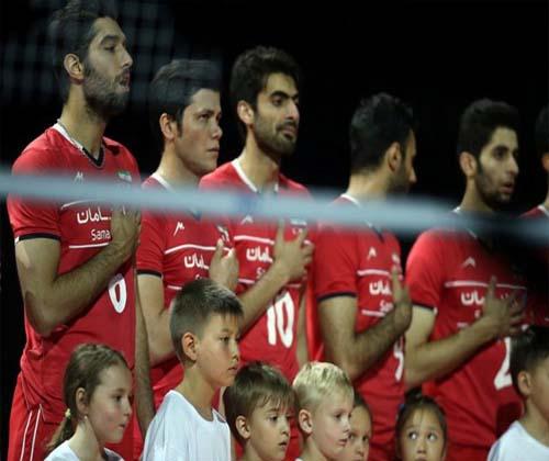 هفت خوان والیبال ایران برای صعود به المپیک