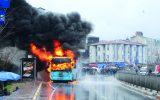 دلایل آتشگرفتن اتوبوسها در نقاط مختلف جهان/ دستکاری غیرمجاز، عامل تشدید حریق اتوبوس در ایران