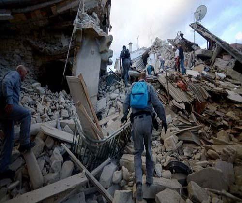 تلفات زلزله ایتالیا به ۲۸۱ تن رسید
